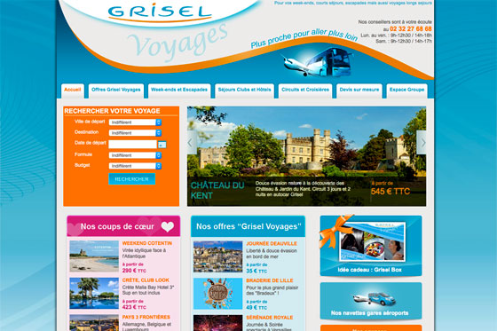 grisel voyages screen