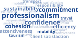 Professionalism, trust, cohesion and sustainability...