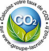 Calculate your CO2 levels on www.groupe-lacroix-co2.fr